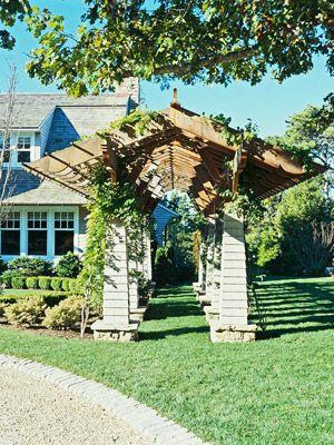 Smart Side-Yard Solutions | Pergola, Backyard, Deck with ... on Side Yard Pergola Ideas id=83286