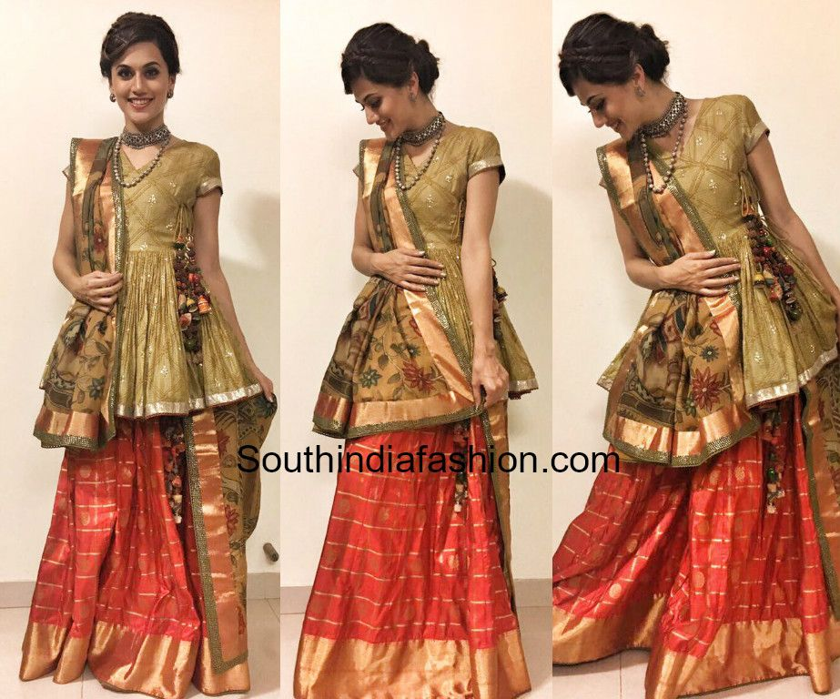 35 Wedding Hairstyles Discover Next Year S Top Trends For: Taapsee Pannu In Gaurang