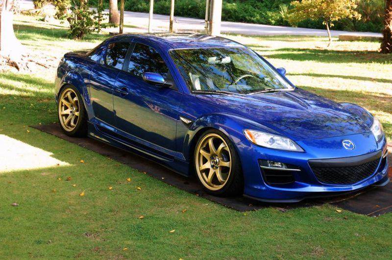 mazda-rx-8-blue-xxr-522-gold   m a z d a_   Mazda, Japanese cars, Cars