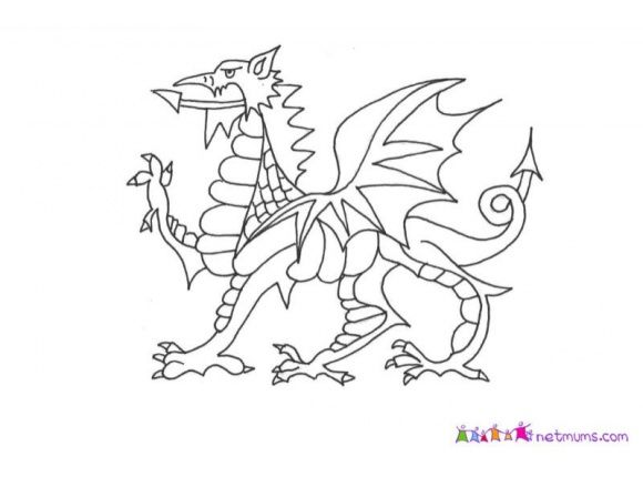 St David S Day Pictures To Print Colour Saint David S Day