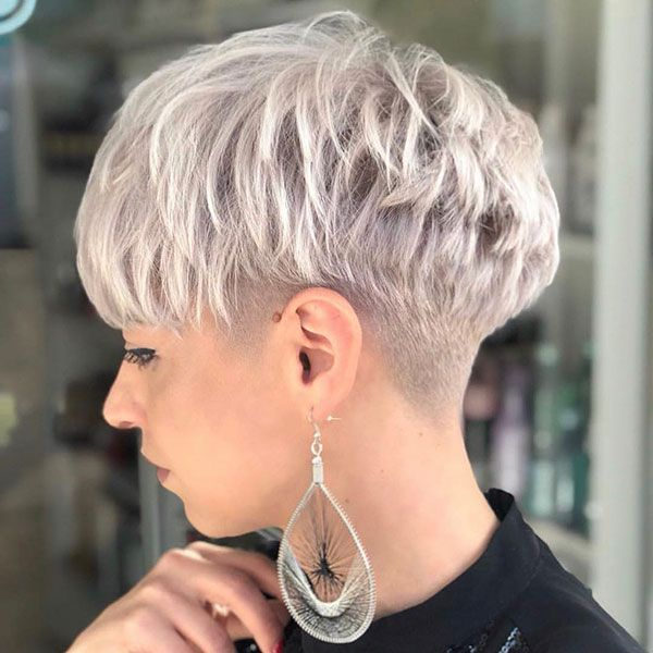 65+ New Pixie Haircut Ideas for 2019 | Short Hairstyles & Haircuts | 2018 - 2019 #edgybob