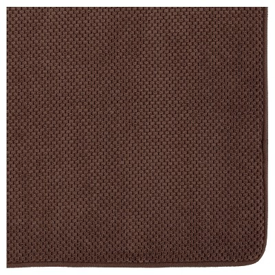 Memory Foam Bath Mat Brown 20 X34 Mohawk Home 20x34 Bath