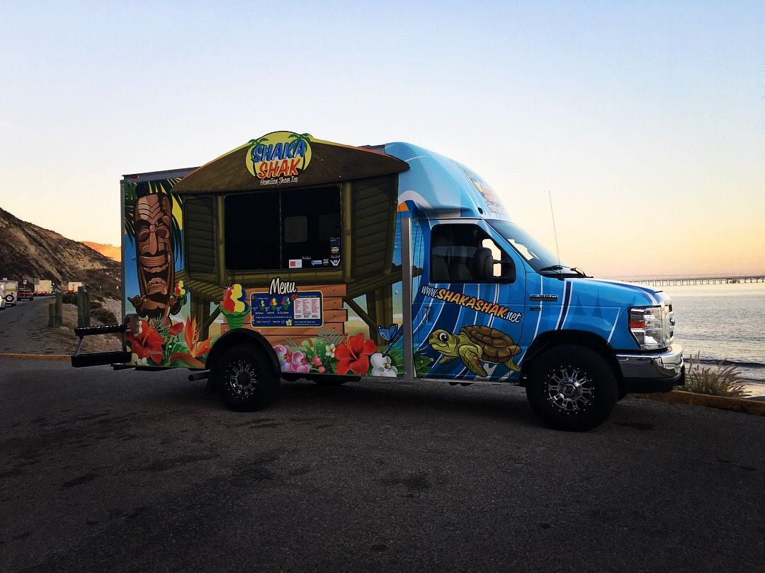 Pin by Nick Heiland on Shave Ice Food truck, Shaved ice