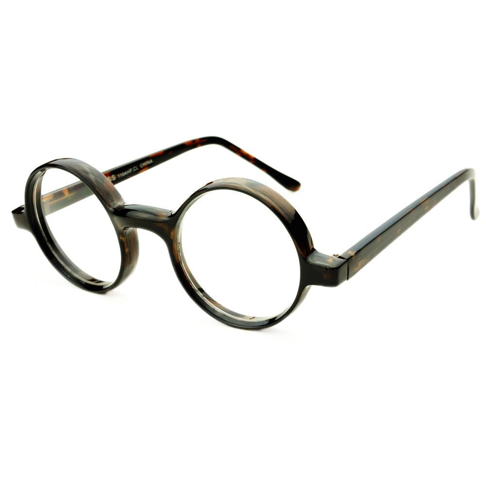 retro style thick frame clear lens circle round glasses frames r42 freyrs beautifully designed