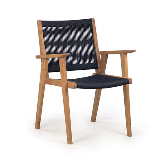 FCH280 Vega Rope Dining Arm Chair
