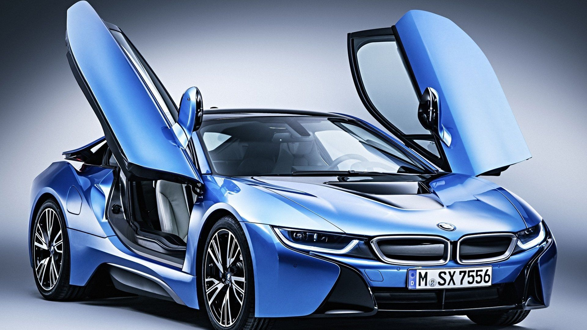Bmw I8 Hybrid Supercar Wallpapers For Desktop 1920x1080 Wallpaper Bmw I8 Bmw Car Models Bmw