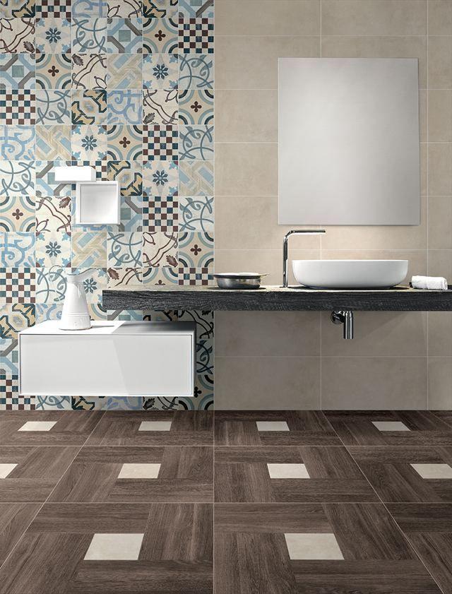 Idees De Carrelage Design Pour Votre Salle De Bains Moderne