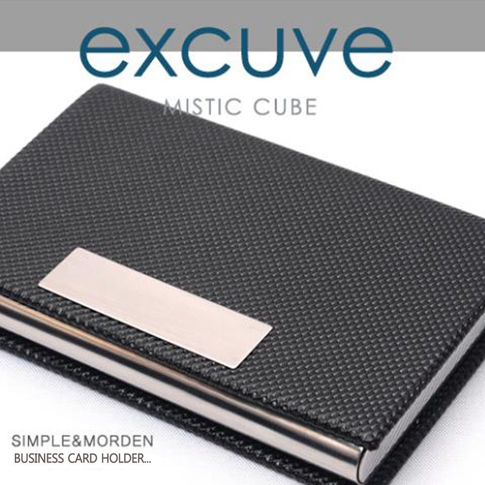 Excuve G1 Personalized Business Card Holder Ample Storage E