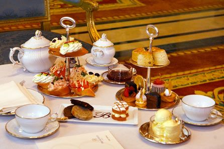 Afternoon tea at the Ritz Yummy. The food was exceptional