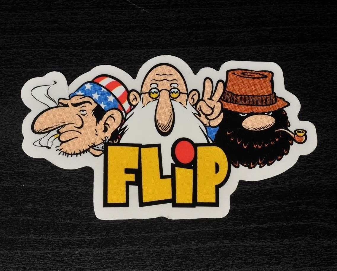 FLIP Tom Penny Skateboard Sticker decal vintage eBay