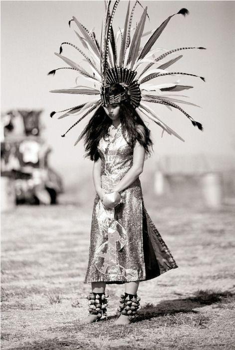 Danzarina Azteca.