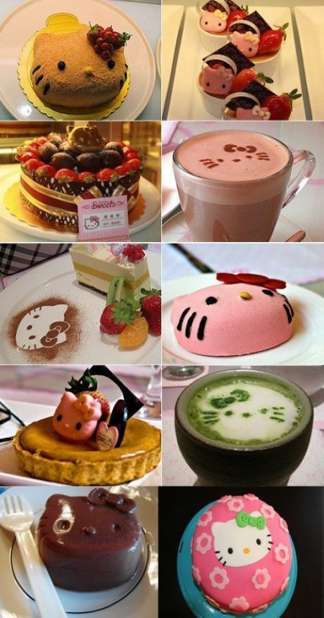 Hello Kitty Desserts Delicious Cake Recipes Desserts Food