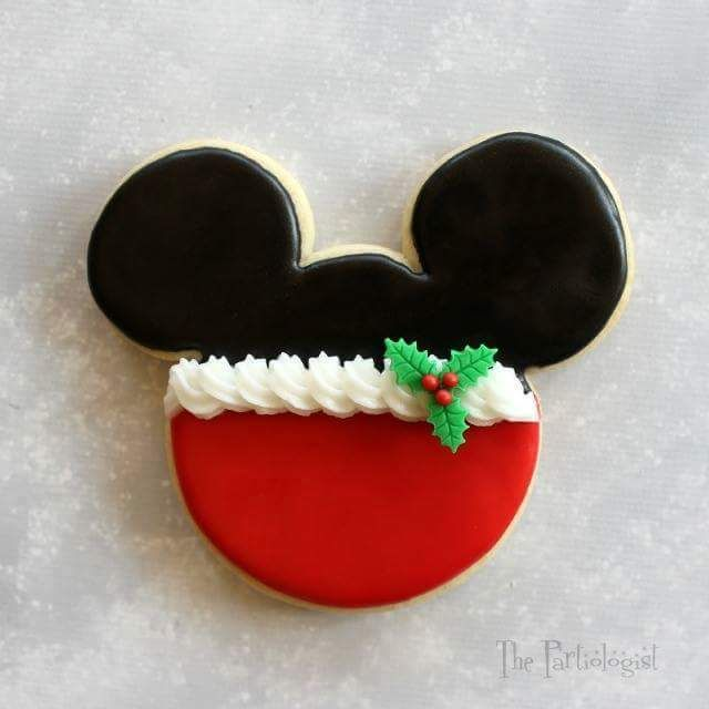 mickey minnie mouse christmas cookies - Mickey Mouse Christmas Cookies