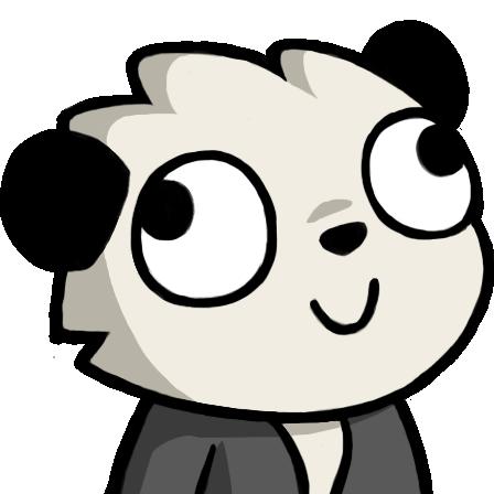 Derpy Panda In 2020 Funny Profile Pictures Panda Emoji Derpy