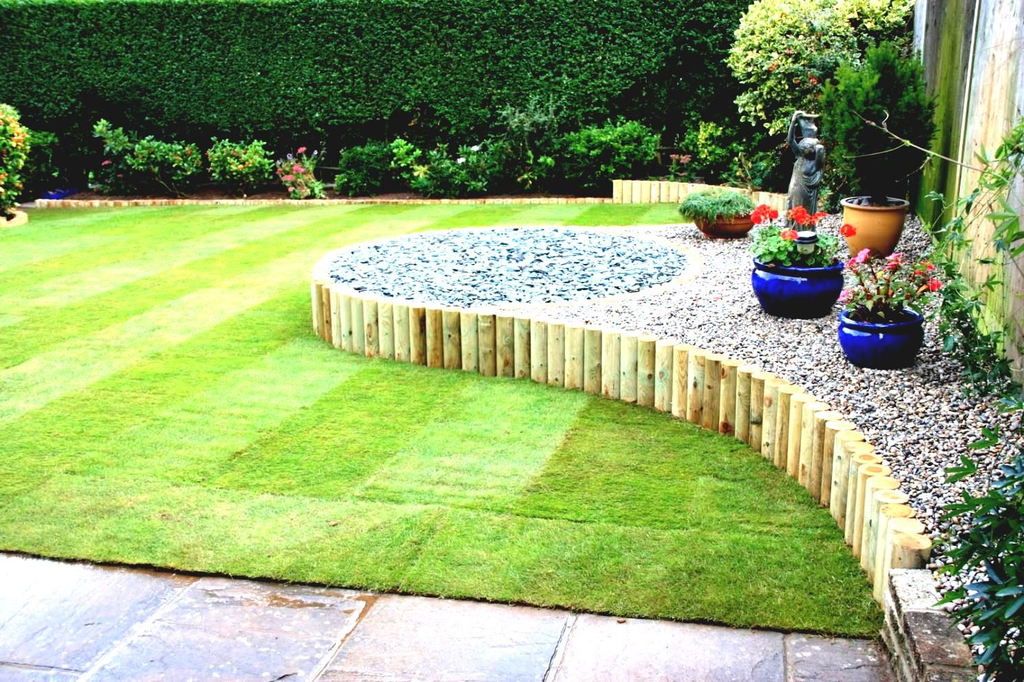 Back Garden Ideas On A Budget Uk | Small garden landscape ...