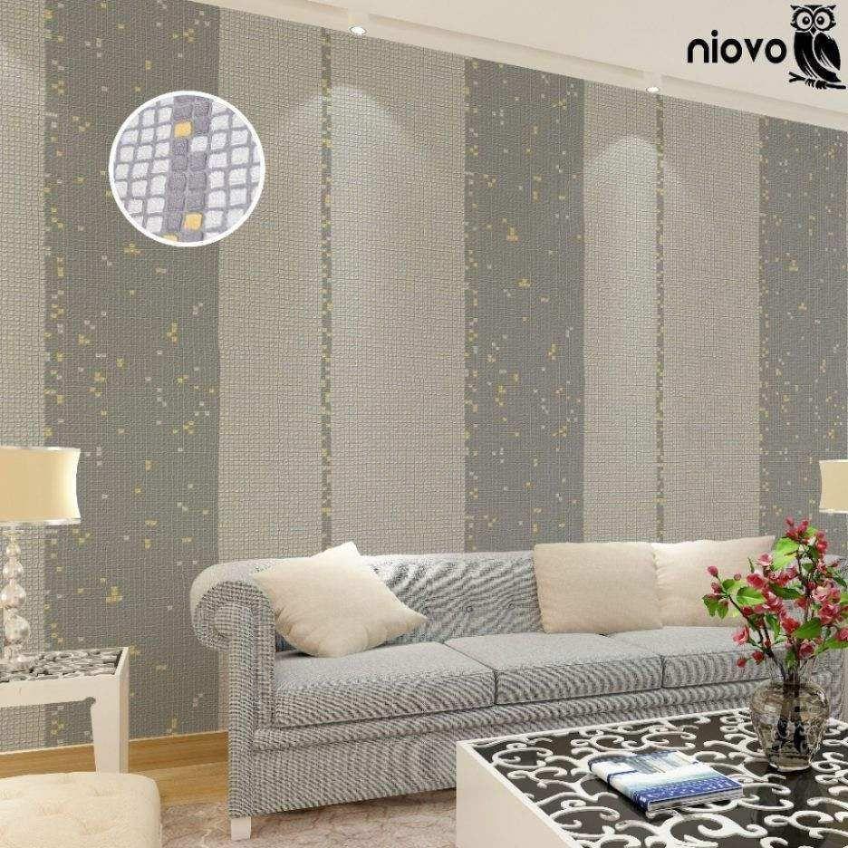 Muster Tapete Wohnzimmer Modern