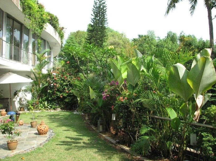 Garden Design Tropical modern tropical garden for modern house | projects to try