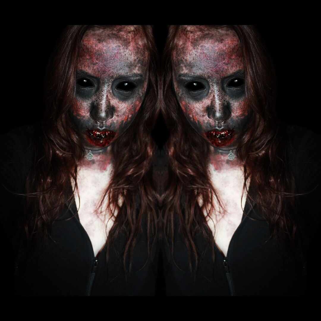 demon face paint horrorsfxhalloweenfanstasy