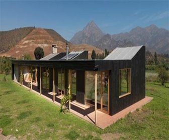 Casas ecol gicas y energ a solar la nueva tendencia de construcci n arquitectura sostenible - Construccion de casas ecologicas ...