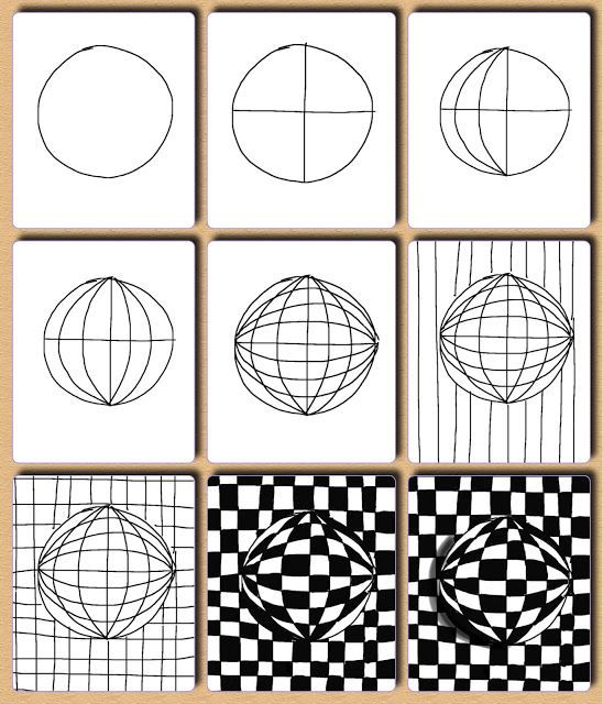 One of my top 6 all time fave types of art styles. *Op Art*
