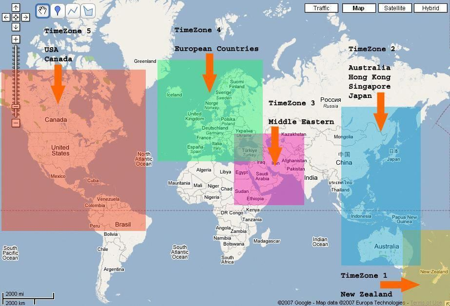 Map Of Forex Zones Forex Trading Time Zones Best Forex
