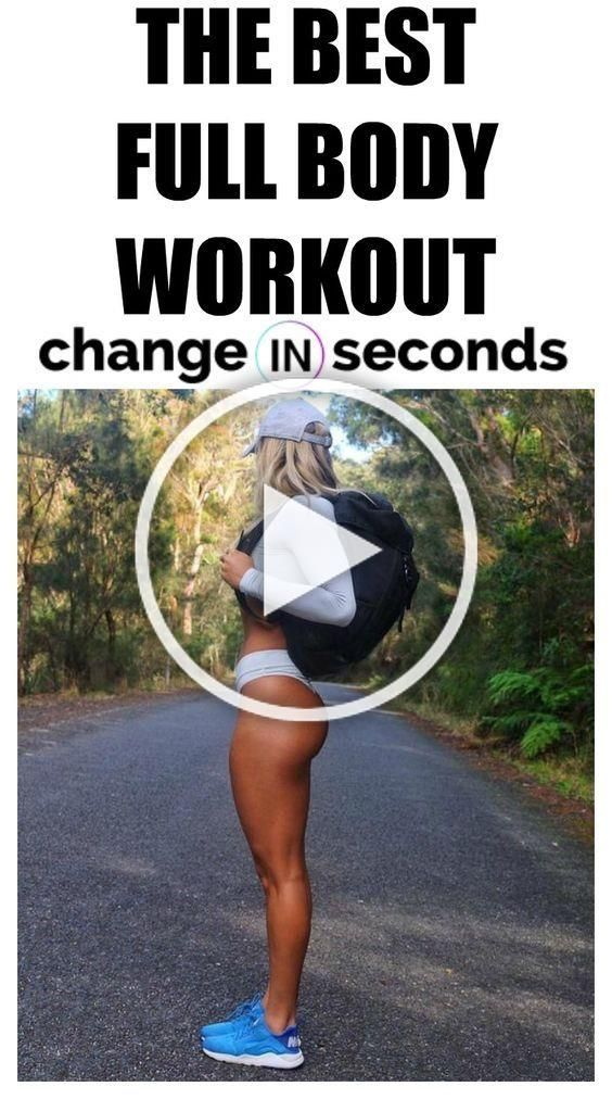 This Is The Best Full Body Workout! Print and share this head to toe body workout to get in shape fa...