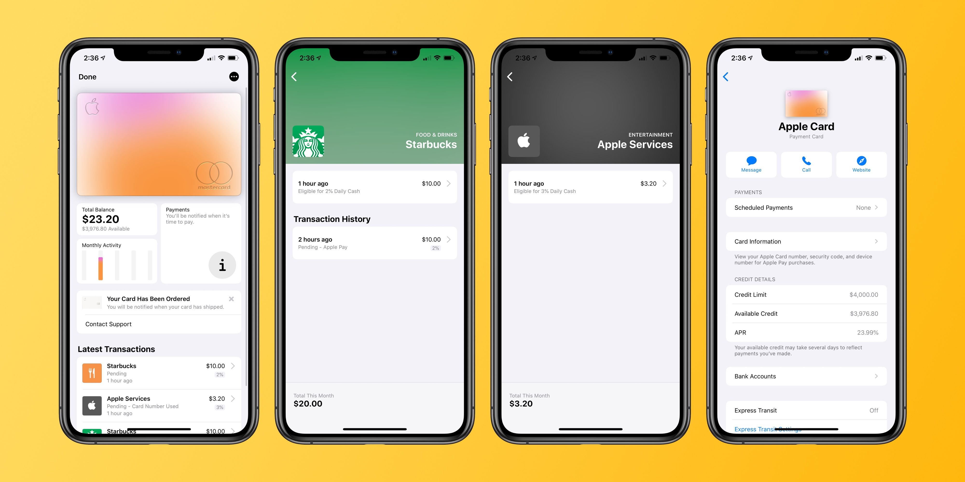 Handson Apple Card approval, application, more Cards
