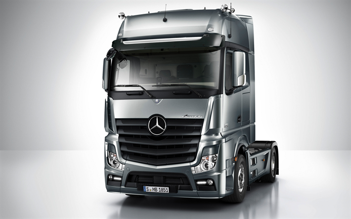 Lataa kuva Mercedes-Benz Actros, 2017, 1845LS, euro 6, Uudet kuorma-autot, Saksan truck, Mercedes