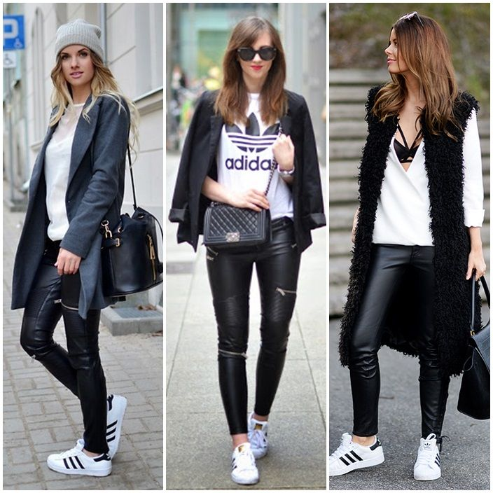 adidas superstar look