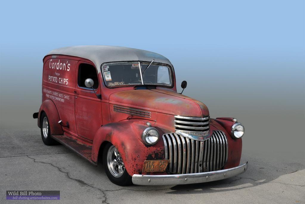Bill Dutting On Twitter Classic Cars Trucks Panel Truck Chevy
