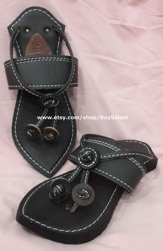 055b291b906 Blessed Prophet Sandal Genuine Leather 100% Handmade Unisex Unique Sunna  Na Layn Slippers
