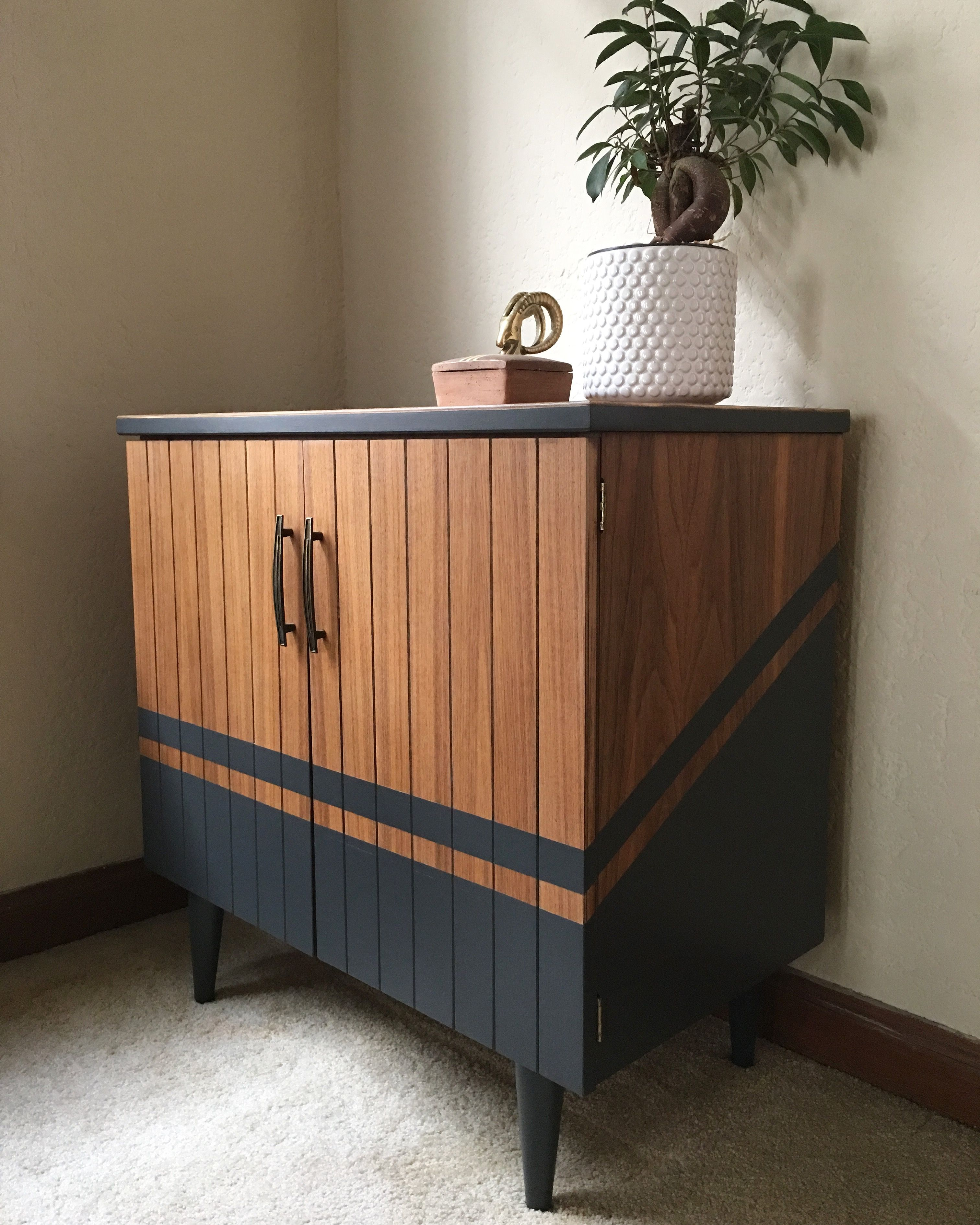 Mid Century Teak Cabinet Furniture Renovation Furniture Restoration Furniture Design Modern