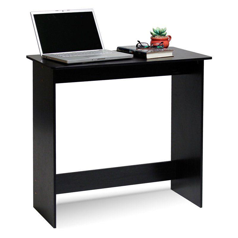 Furinno Simplistic Study Table - 14035EX   Writing desk, Wood computer desk, Desk