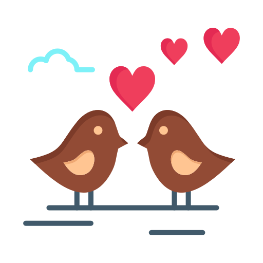 Valentine Heart Png Free Download Love Background Heart Animation Subpng Pngfly Love Birds Drawing Cartoon Birds Bird Beaks