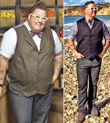 How did masterchef judge lose weight