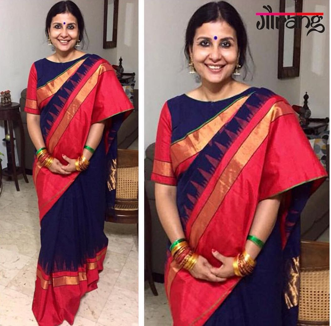 Pin by sudha reddy on saree   Blouse designs, Saree blouse