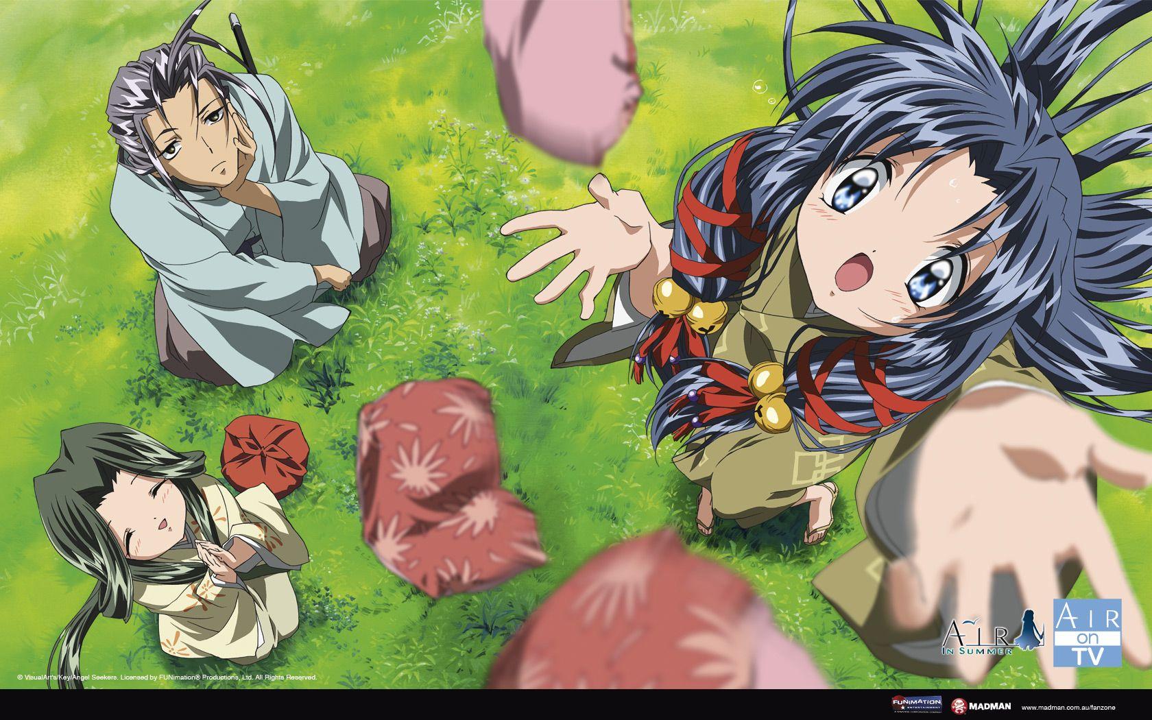air tv anime Google Search Anime, Kyoto animation, Air