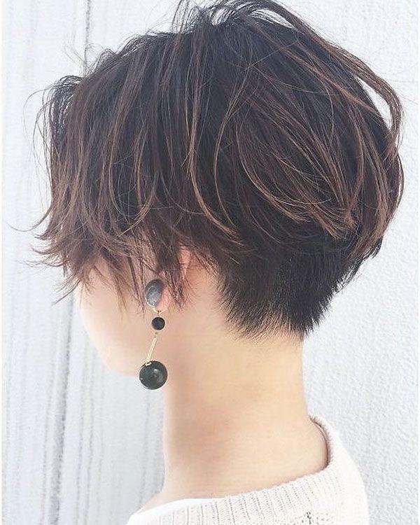 Kurze geschichtete Haarschnitte für dünnes Haar  #dunnes #geschichtete #haarschnitte #kurze #shortlayers