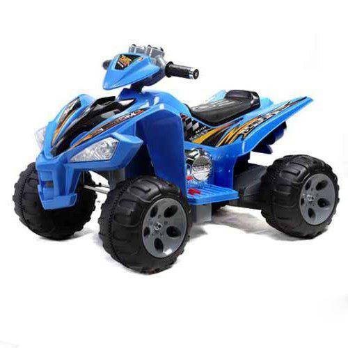 Buy Quadbike 4 X 4 Blue House Garden Indoors Outdoors Kids Pretend
