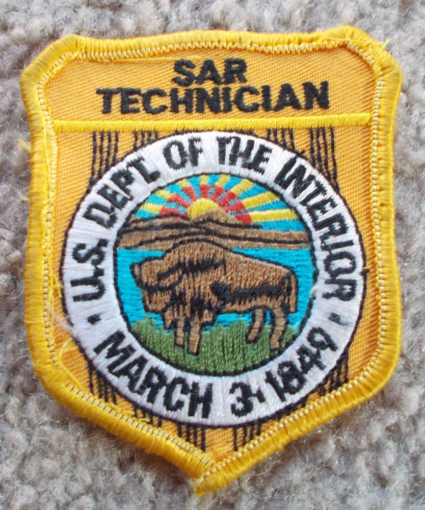 U.S. NATIONAL PARK RANGER SEARCH AND RESCUE TECHNICIAN