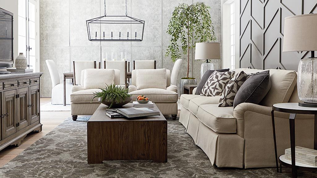Bassett Furniture - pre-designed spaces | Home - Living Room in 2019 ...