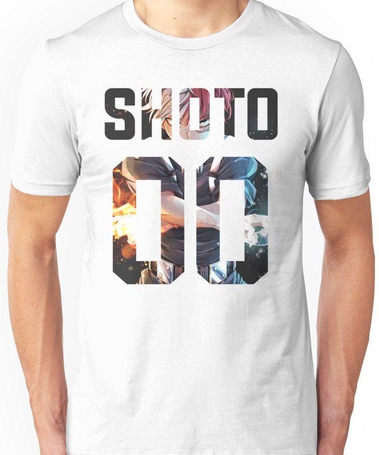 b50c1b9d4c0 Shoto Todoroki 00 Unisex T-Shirt