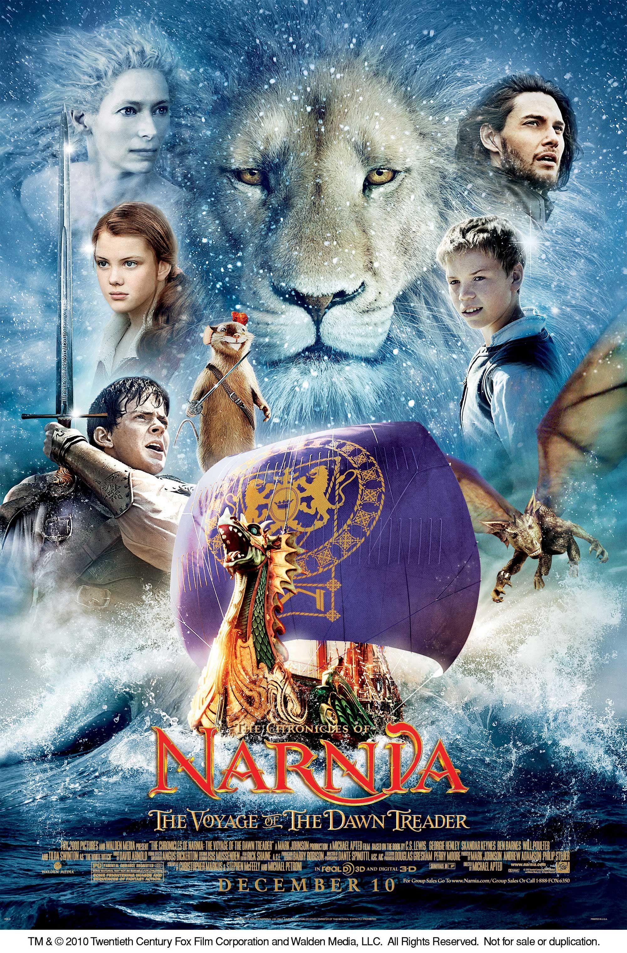 poster pelicula narnia