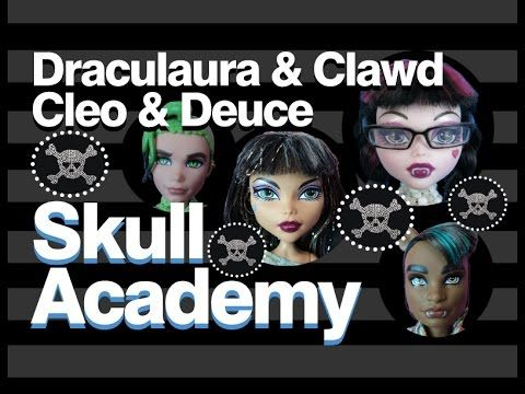 Monster High Doll Show | Skull Academy | Draculaura Clawd Cleo Deuce