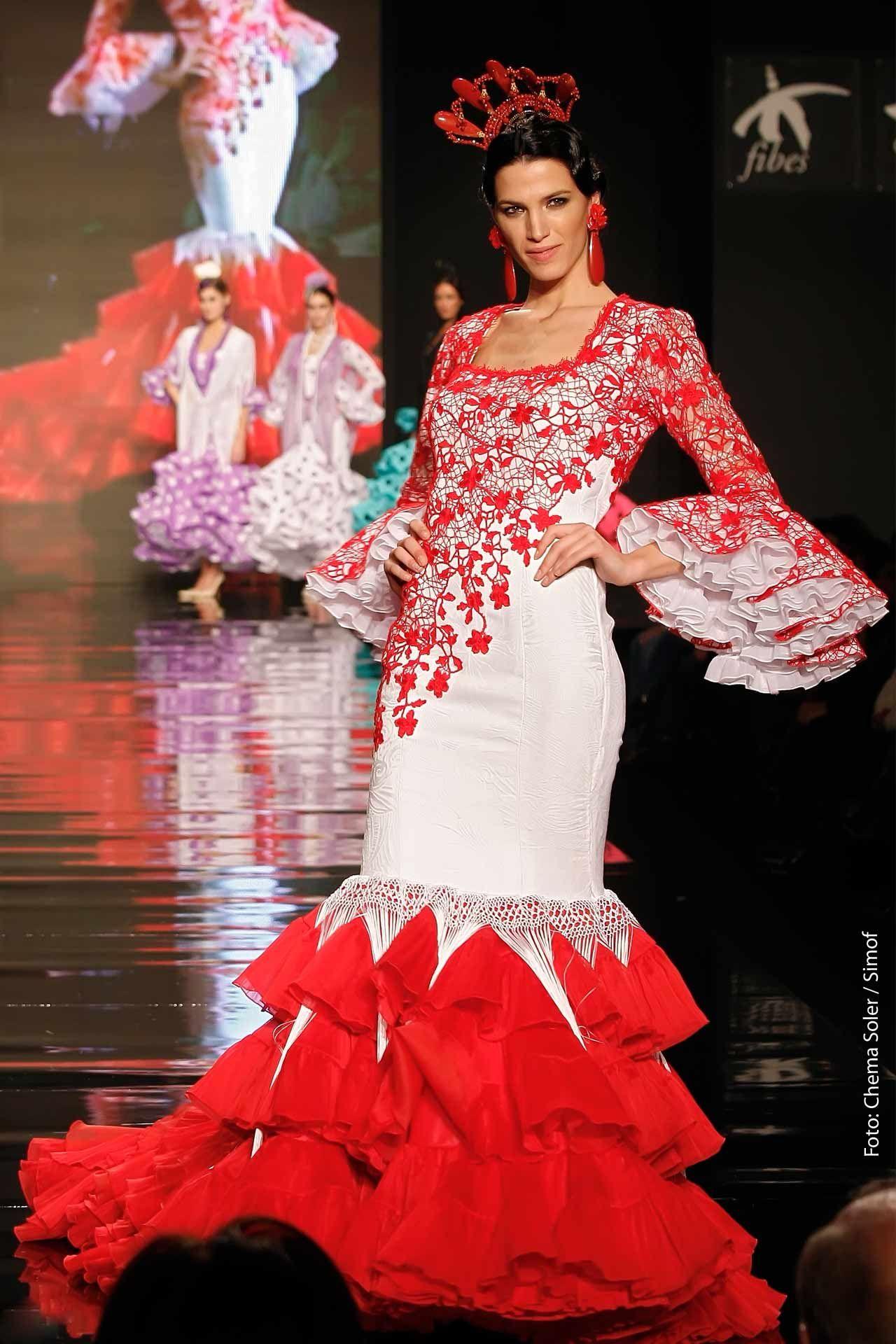 Trajes de Flamenca Moda Flamenca Gitana | Flamencas | Pinterest ...