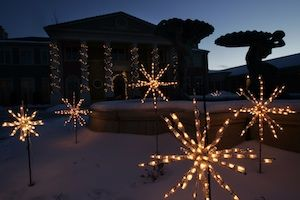 Outdoor Holiday Lighting in Grand Junction, CO.