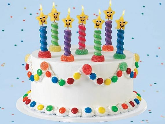 Birthday Cake Ideas For Kids Colorful Cake