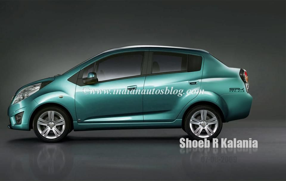 2017 Chevrolet Beat Will Be Available As A Notchback Chevrolet Beats Vans