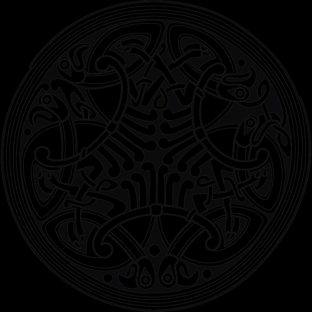 Celting round birds ornament (png) | Ornament 3 : celtic, byzantine ...