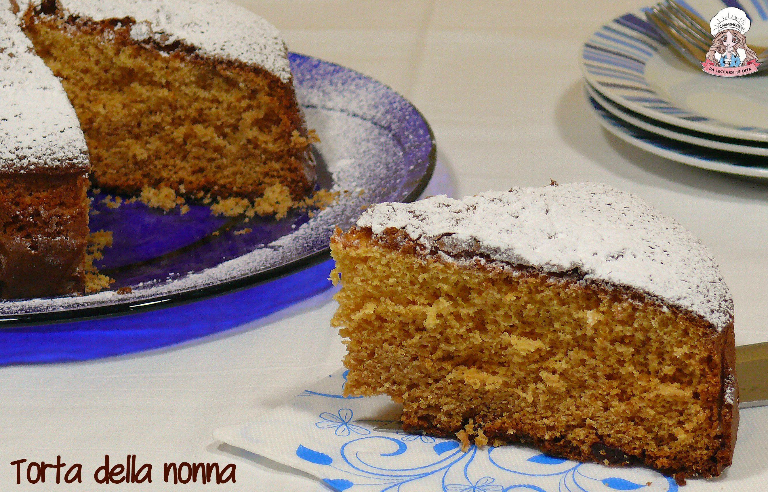 Photo of Torta della nonna sofficissima